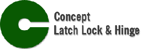 Concept Latch, Lock and Hinge