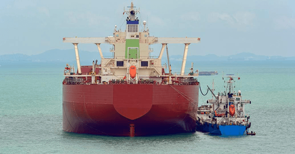 Two Ships Bunkering